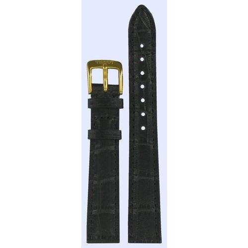 Tissot Tissot T71331131 Watch Band Black Leather 14 mm
