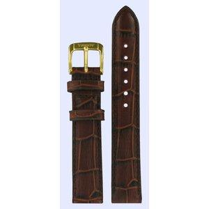 Tissot Tissot T71332632 Horlogeband Donkerbruin Leer 15 mm