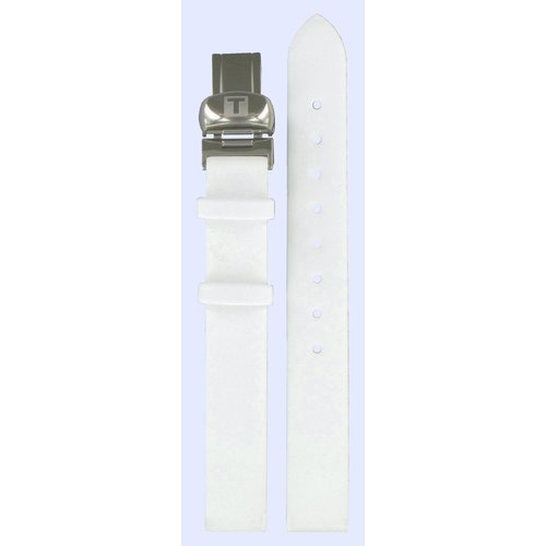 Tissot Tissot T03155580 Watch Band White Leather 12 mm