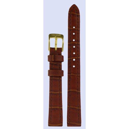 Tissot Tissot T71313635 Uhrenarmband Braun Leder 12 mm