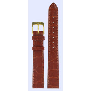 Tissot Tissot T713312 Watch Band Brown Leather 14 mm