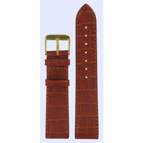 Tissot Tissot T7135 & T7136 Oroville Watch Band Brown Leather 20 mm