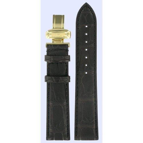 Tissot Tissot T9034141605100 & T71371822 Heritage Watch Band Dark Brown Leather 20 mm