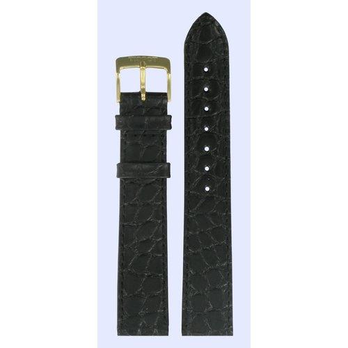 Tissot Tissot T71340121 Hesalite Uhrenarmband Schwarz Leder 18 mm