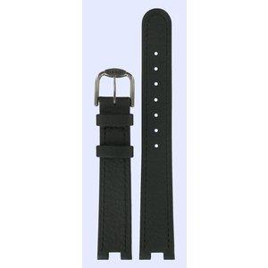 Tissot Tissot T51201100 & T51208110 R150 Horlogeband Zwart Leer 16 mm