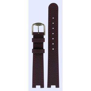 Tissot Tissot T51201100 & T51208110 R150 Watch Band Bordeaux Leather 16 mm