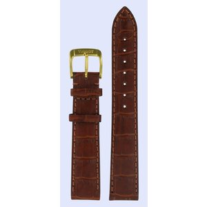 Tissot Tissot T71313934 Watch Band Brown Leather 16 mm