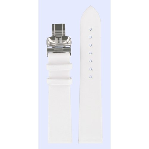 Tissot Tissot T11135571 T-Trend T11 Watch Band White Leather 18 mm