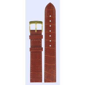 Tissot Tissot T71313721 Horlogeband Bruin Leer 17 mm