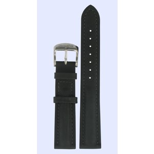 Tissot Tissot T14185361 Uhrenarmband Schwarz Leder 18 mm