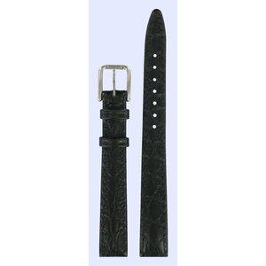 Tissot Tissot T151221 Uhrenarmband Schwarz Leder 12 mm