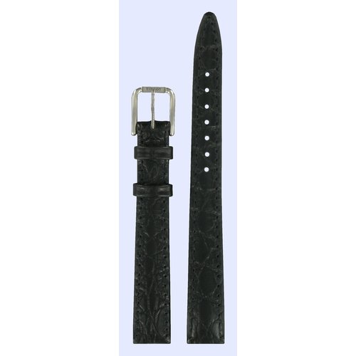 Tissot Tissot T151221 Watch Band Black Leather 12 mm