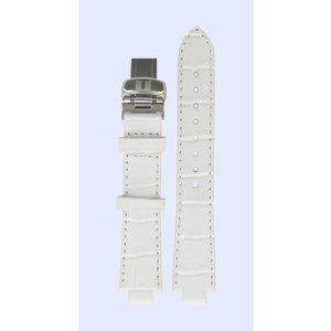 Tissot Tissot T60125963 T-Trend Horlogeband Wit Leer 09,5 mm