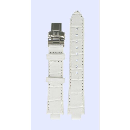 Tissot Tissot T60125963 T-Trend Watch Band White Leather 09,5 mm