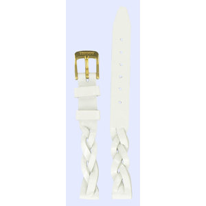 Tissot Tissot T71333232 Watch Band White Leather 11 mm