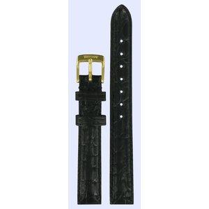 Tissot Tissot T71332234 & T71313334 Horlogeband Zwart Leer 13 mm