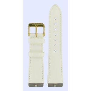 Tissot Tissot T71331832 Horlogeband Wit Leer 21 mm