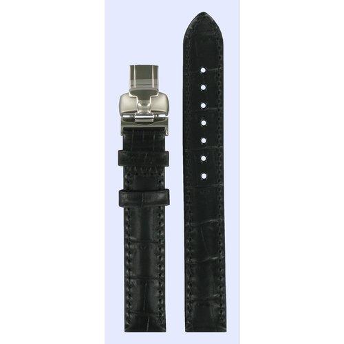 Tissot Tissot T045207 & T02122551 Horlogeband Zwart Leer 14 mm