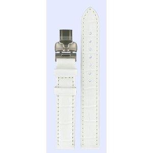 Tissot Tissot L750/850 - T02125571 Horlogeband Wit Leer 14 mm