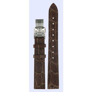 Tissot Tissot T22111111 T-Sport Watch Band Brown Leather 14 mm