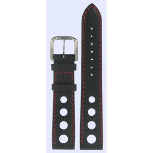 Tissot Tissot T34172192 T-Classic Horlogeband Zwart Leer 18 mm