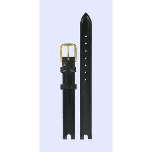 Tissot Tissot T0032093611700 Uhrenarmband Schwarz Leder 12 mm