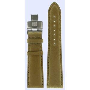 Tissot Tissot T005517A - T005.517A Horlogeband Bruin Leer 22 mm