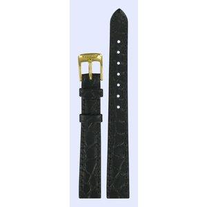 Tissot Tissot T7121 & T7131 Uhrenarmband Schwarz Leder 12 mm