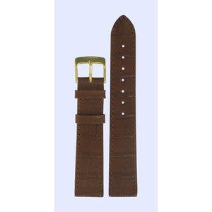 Tissot Tissot T71242511 Horlogeband Bruin Leer 18 mm