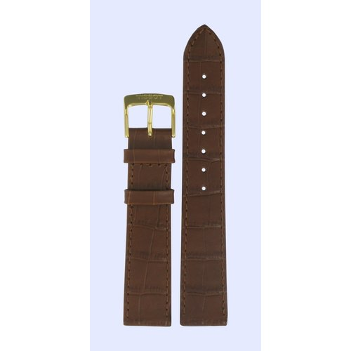 Tissot Tissot T71242511 Watch Band Brown Leather 18 mm