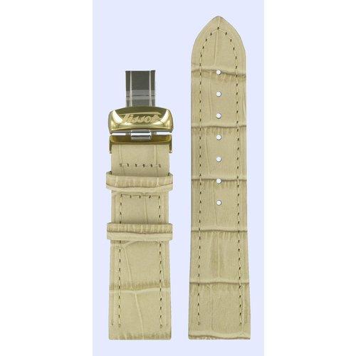 Tissot Tissot T56561232 Heritage Bracelet De Montre Crème Cuir 20 mm