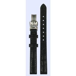 Tissot Tissot T015309A Horlogeband Zwart Leer 11 mm
