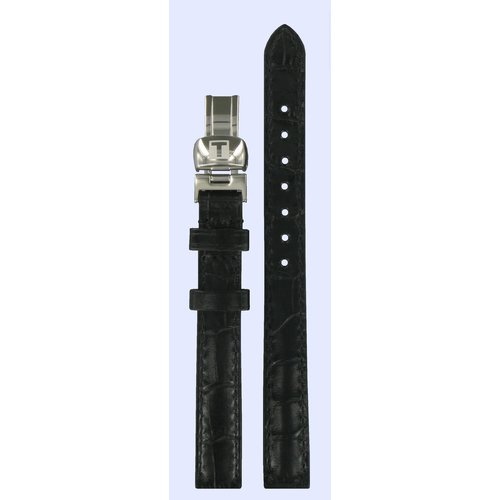 Tissot Tissot T015309A Watch Band Black Leather 11 mm