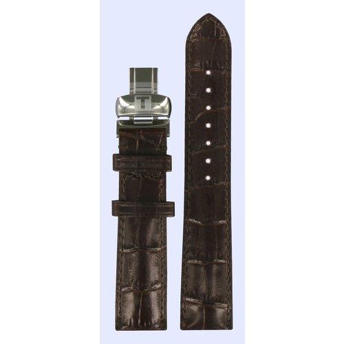 Tissot Tissot T016309A T-Trend Watch Band Dark Brown Leather 18 mm