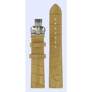 Tissot Tissot T016309A T-Trend Uhrenarmband Beige Leder 18 mm