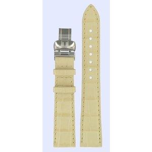 Tissot Tissot T008217A Horlogeband Beige Leer 17 mm