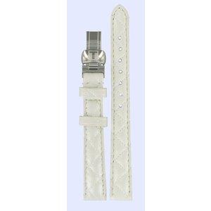 Tissot Tissot T58123511 Uhrenarmband Weiß Leder 12 mm