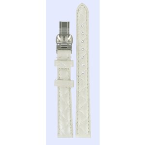 Tissot Tissot T58123511 Watch Band White Leather 12 mm