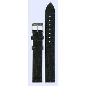 Tissot Tissot T033210A Horlogeband Zwart Leer 14 mm
