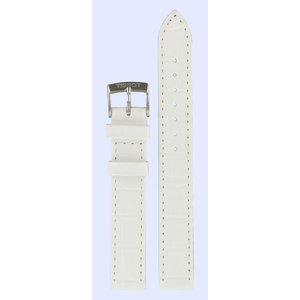 Tissot Tissot T033210A Watch Band White Leather 14 mm
