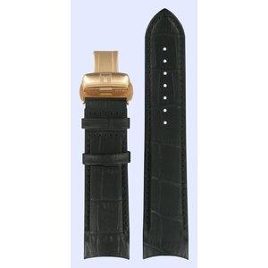 Tissot Tissot T035407A & T035428A Watch Band Black Leather 22 mm