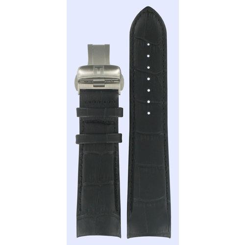 Tissot Tissot T035439A & T035617A T-Trend Horlogeband Zwart Leer 23 mm