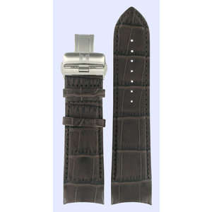 Tissot Tissot T035627A T-Trend Watch Band Brown Leather 24 mm