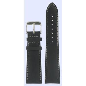 Tissot Tissot T039417A Uhrenarmband Schwarz Leder 22 mm