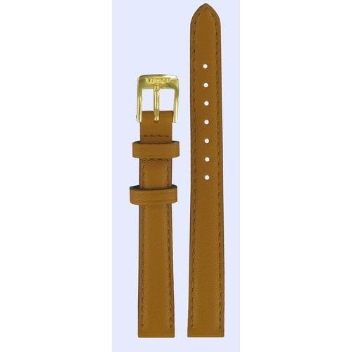 Tissot Tissot T71317074 Uhrenarmband Braun Leder 12 mm