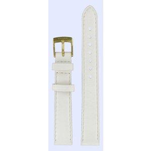 Tissot Tissot T71312974 Horlogeband Wit Leer 14 mm