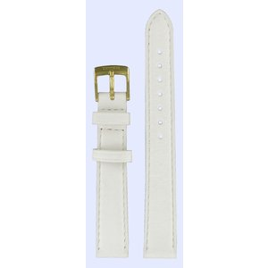 Tissot Tissot T71312974 Watch Band White Leather 14 mm