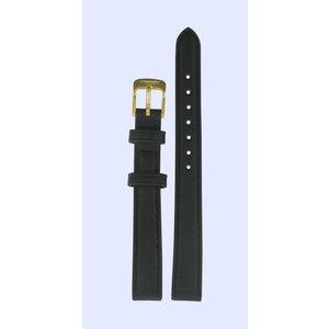 Tissot Tissot T71318074 Watch Band Black Leather 12 mm