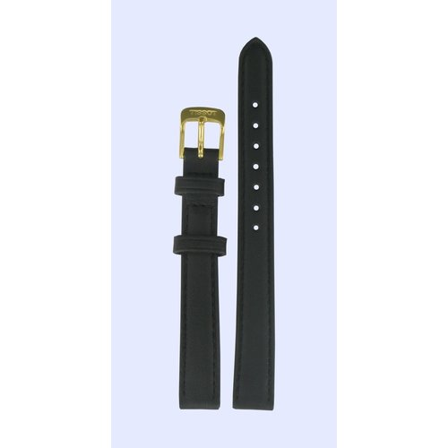 Tissot Tissot T71318074 Uhrenarmband Schwarz Leder 12 mm