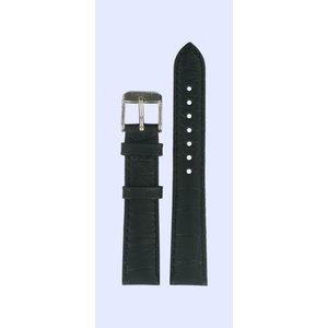 Tissot Tissot T038207A Horlogeband Zwart Leer 16 mm